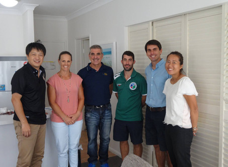 First meeting with Oceania Paralympic Committee