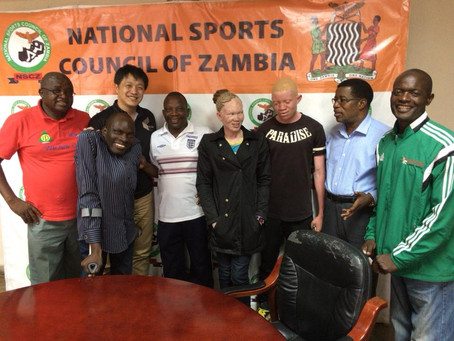 Zambia Paralympic Committee is having a momentum