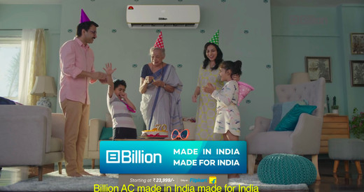 Billion Air Conditioner  #OnlyOnFlipkart