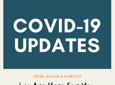 Coronavirus (COVID-19) Update We are here for you