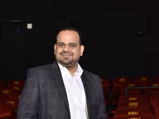 Sustainability & Customer Experience Most Important,  Bhuvnesh Mendiratta, VP, P&L, Miraj Cinemas