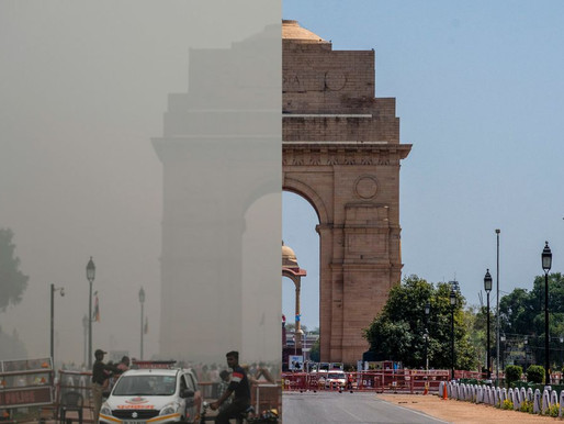 Delhi reels under twin emergencies: Air pollution & COVID-19