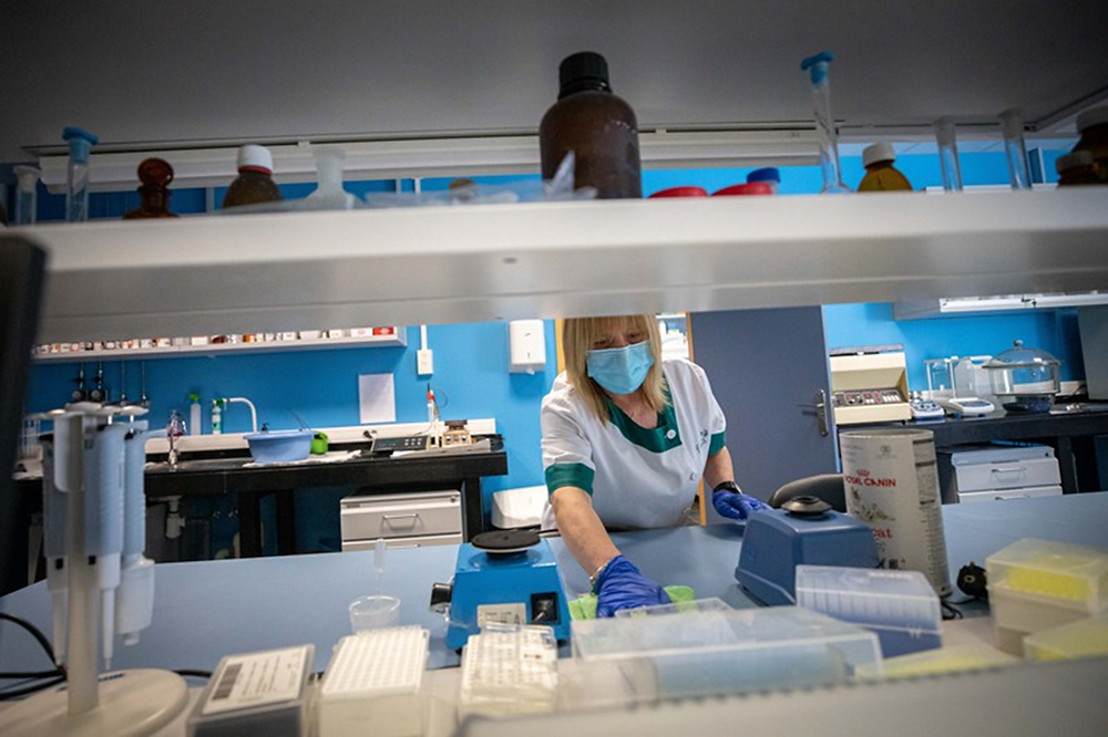 Many academic laboratories are instituting strict cleaning protocols in response to the coronavirus pandemic.