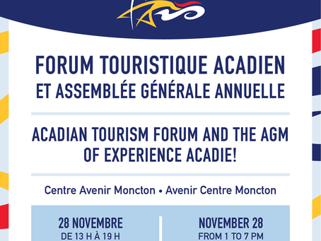Forum touristique acadien