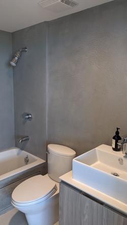 Tadelakt Shower in Miami