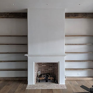 Plaster Craft Bespoke Plaster Fireplace Moulding in Wellington Florida