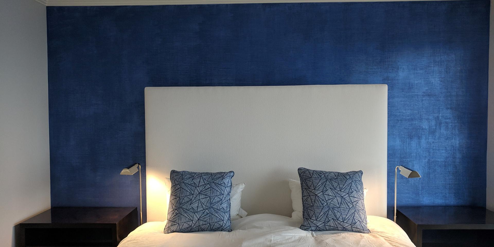 Denim Plaster Wall