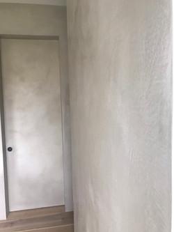 Tadelakt shower in Fort Lauderdale