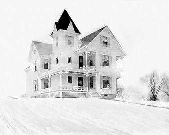 "The ""Youngest Old"" House pictured in 1898 (Click to Enlarge)"