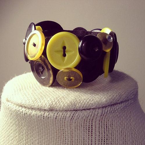 Chunky Button Bracelet