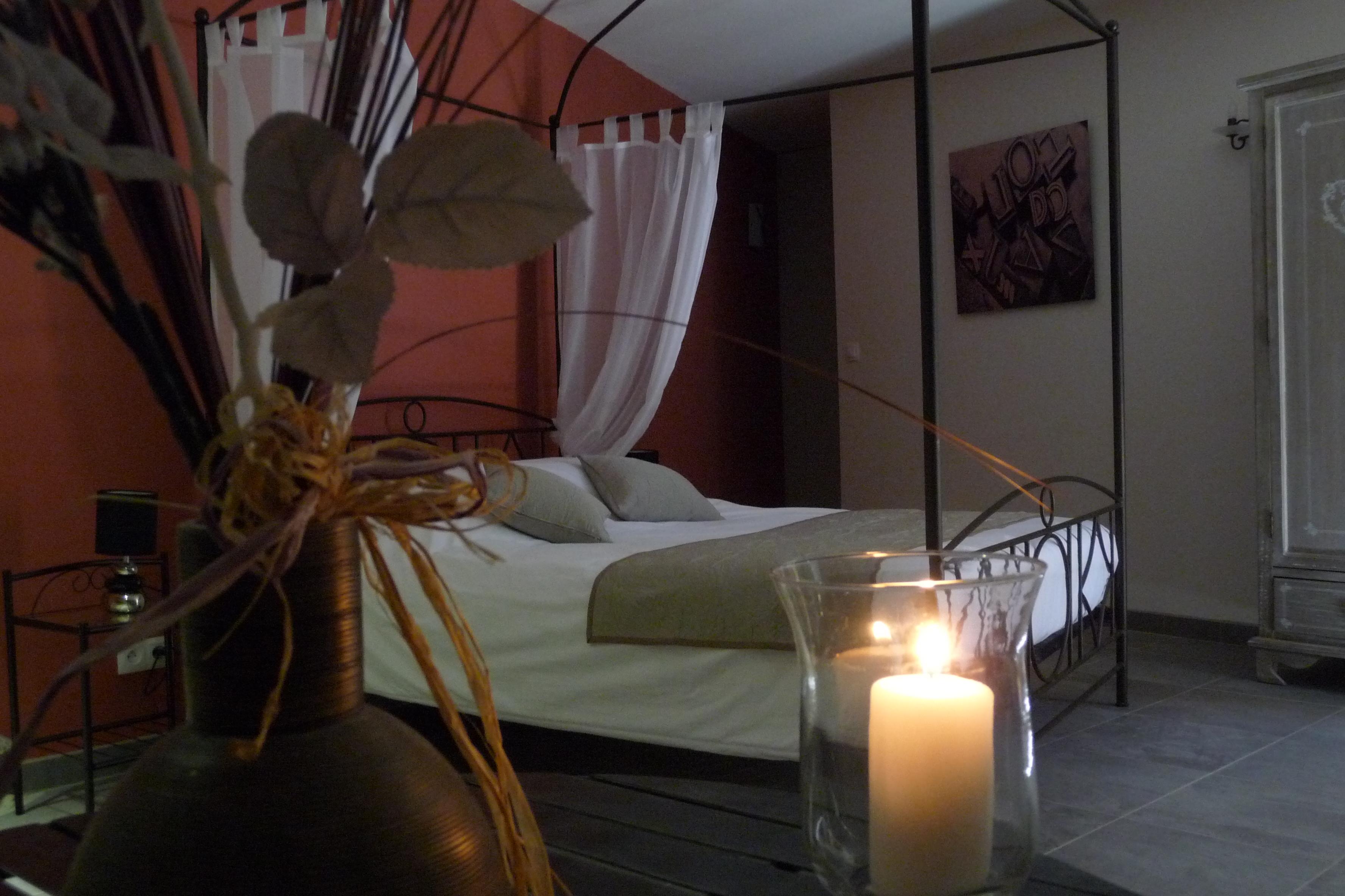 la peireta, chambre romantique