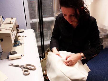 Una Stilista che crea abiti da sposa da oltre 30 anni...