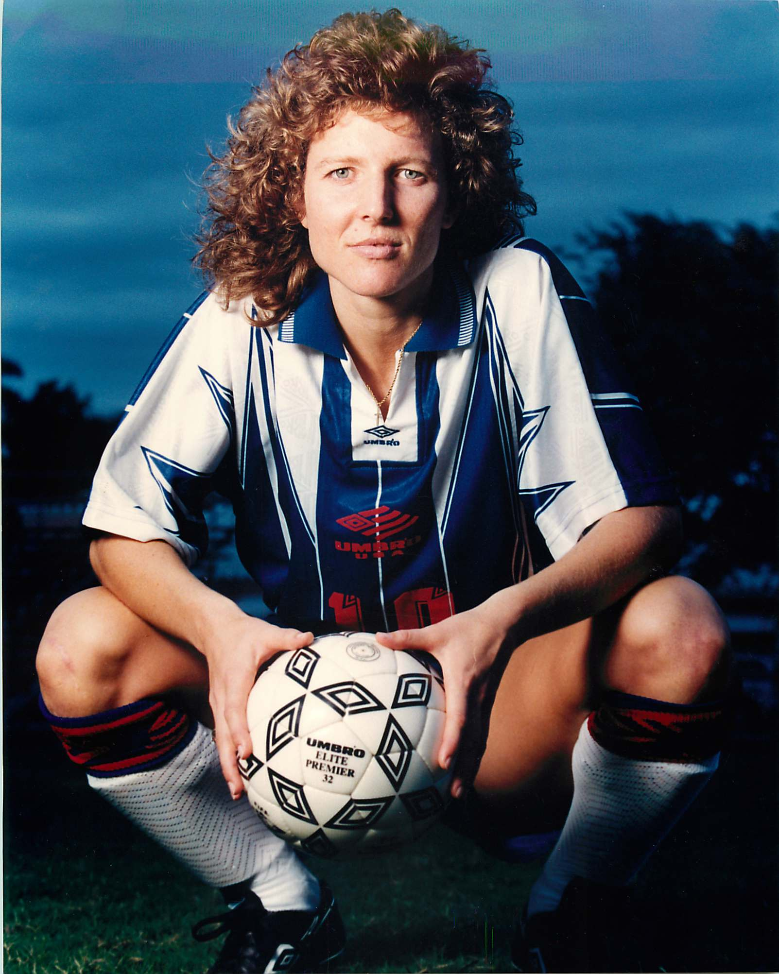Michelle Akers UMBRO