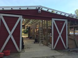 Taking apart Old Barn 2016