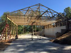 New Barn Trusses/Framing