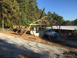New Barn Trusses 2016