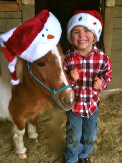 Candy Cane and Cody