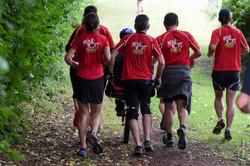 11-2017-07-09 10km Aizenay- la team de dos pour les sponsors (photo Charles Piveteau)