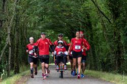 04-2017-07-09 10km Aizenay- Piste cyclable - Joelette No 1 (photo Charles Piveteau)