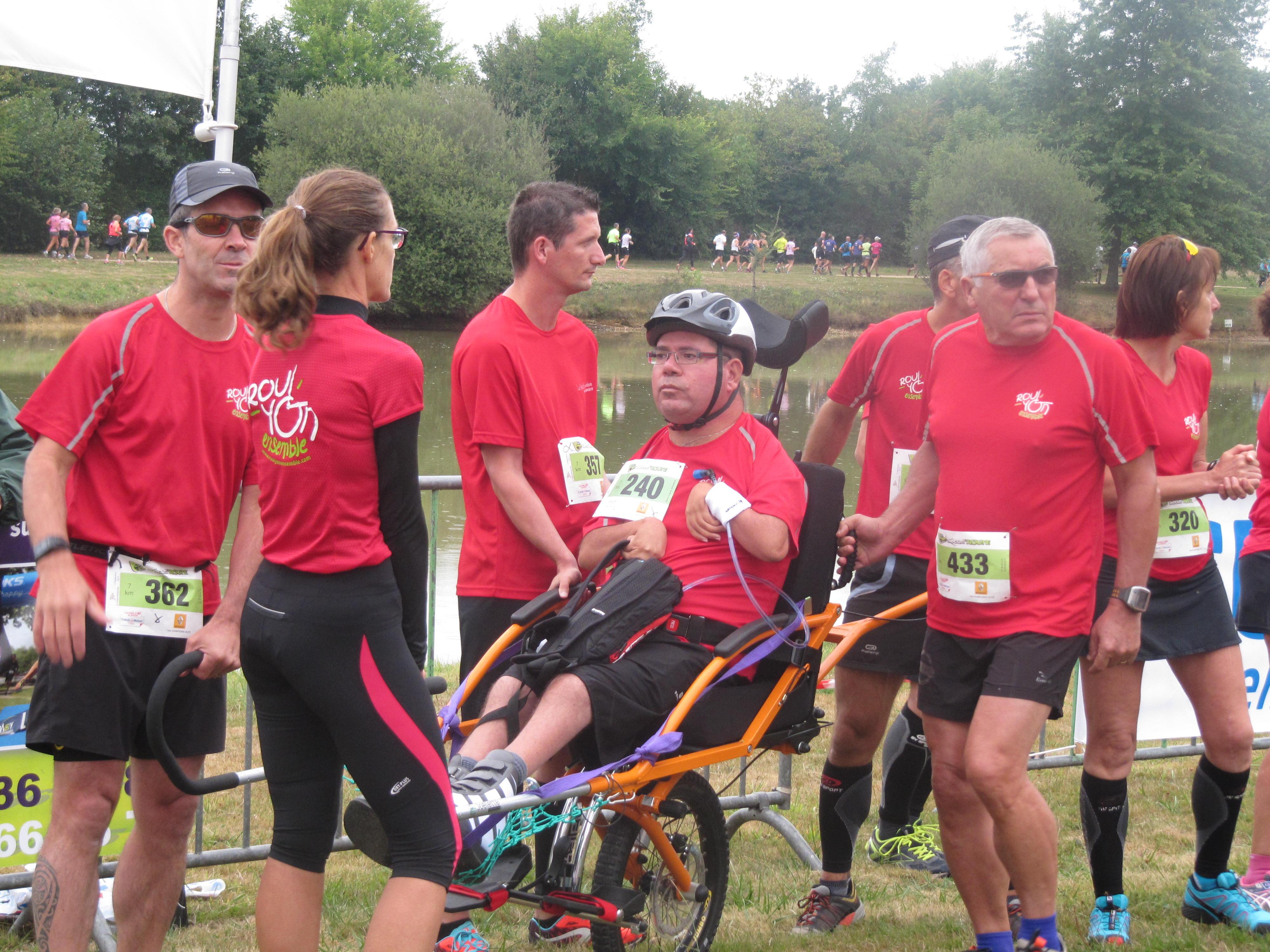 06 - Dompierre brief avant course - Hugues