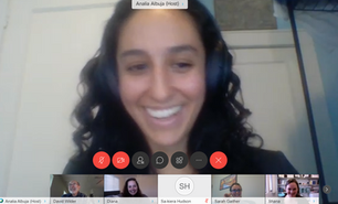 Dr. Analia Albuja successfully defends her dissertation!
