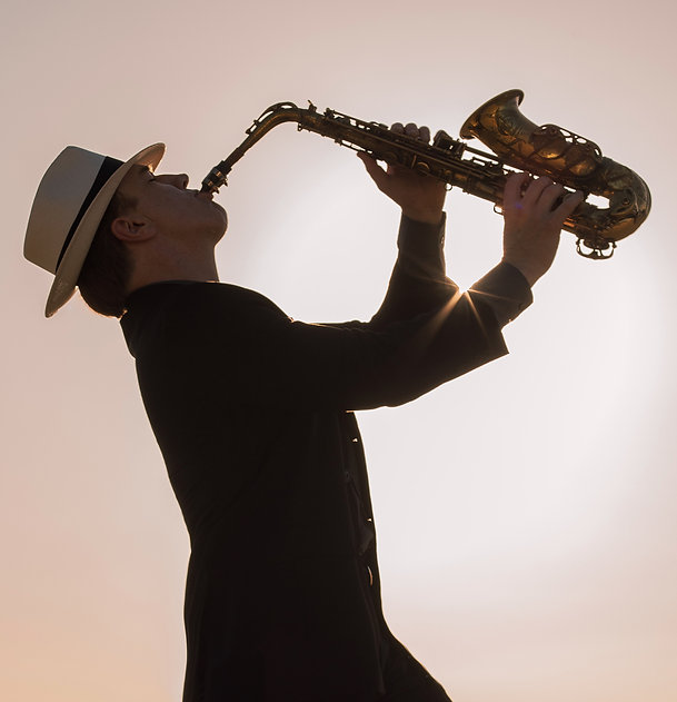Smooth-jazz sax player in Los Angeles