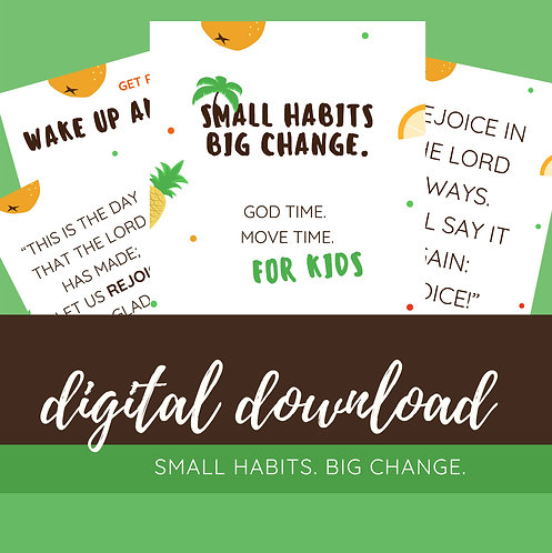 Small Habits, Big Change - Simple Morning Routine for Kids