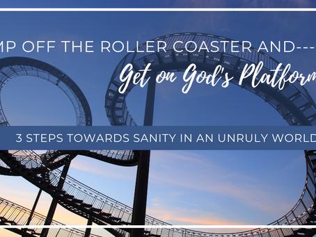 Get on God's Platform!