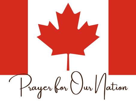 CALL TO PRAYER for Canada
