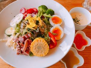地産地消!!香取市の農カフェで新鮮野菜堪能(^_-)-☆