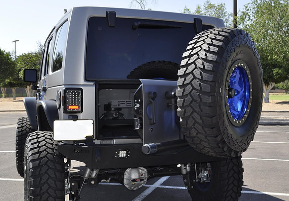 Rear Gate Tire Holder