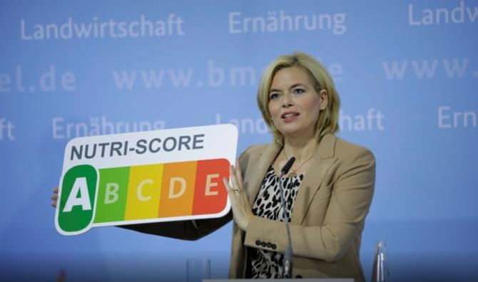 """Германия вводит маркировку""""светофор""""."""
