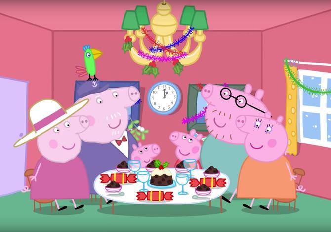 Свинка Пеппа чаще других попадает в рекламу вредных продуктов.