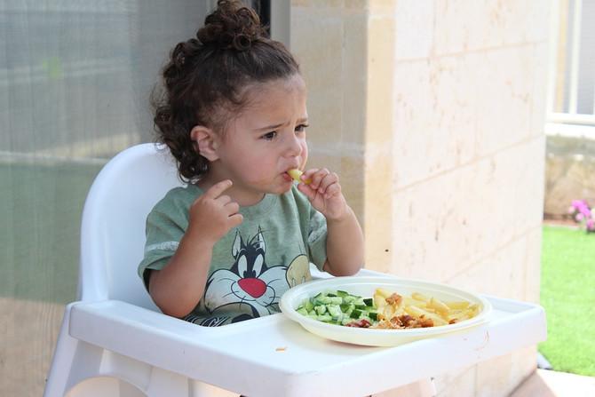 Дети едят недостаточно овощей - исследование Nestle