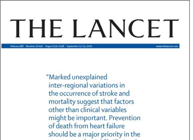 Исследование Lancet: Россия заняла 119 место в рейтинге здоровья населения