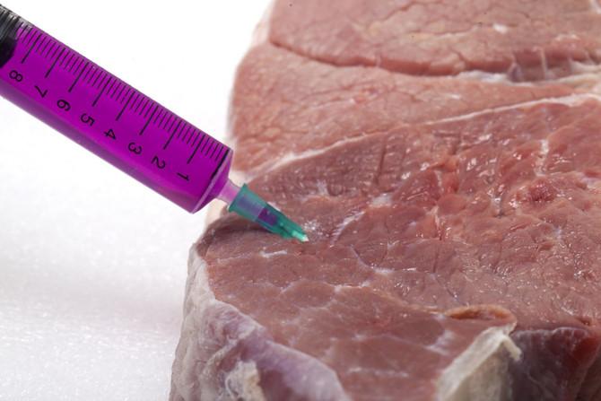 Антибиотики в мясе мешают похудению