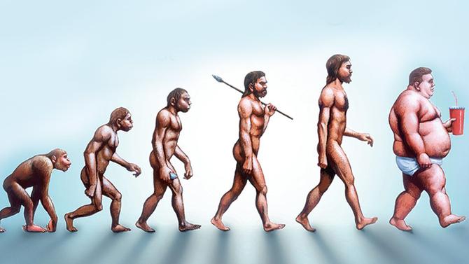 Эволюционный механизм способствует ожирению.