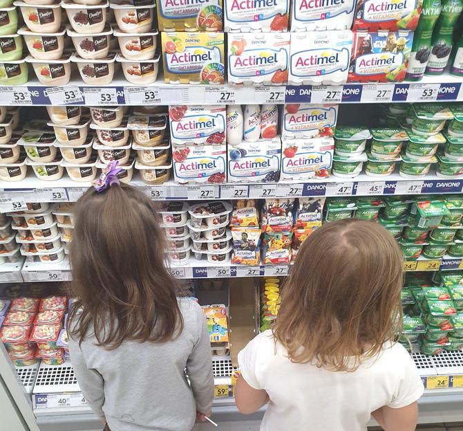 Сахар - главная проблема детской молочной продукции: исследование.