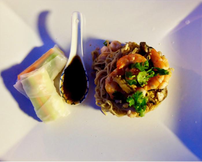 Caipiriñha noodles