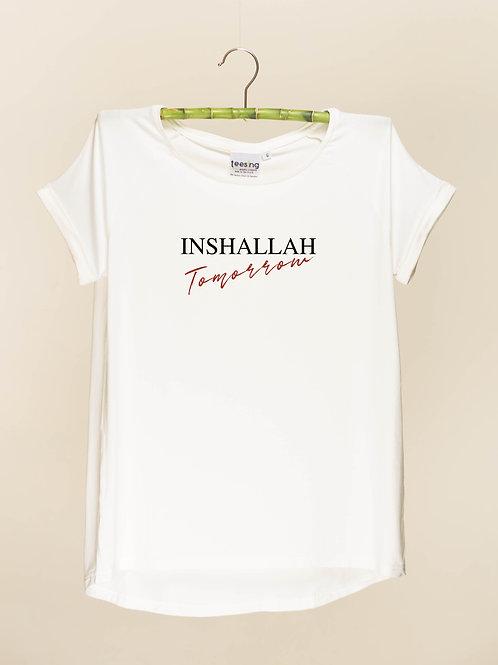 Inshallah tomorrow