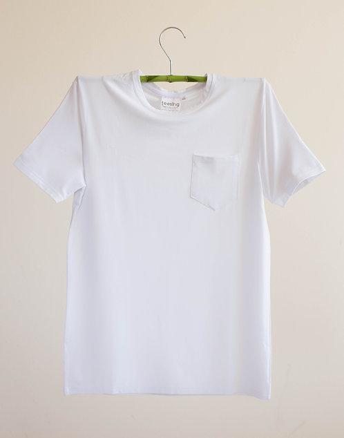 Plain with pocket