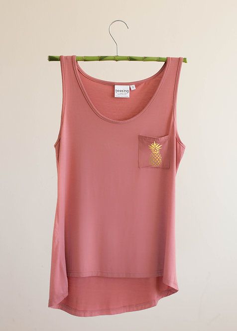 Golden Pinapple tank top