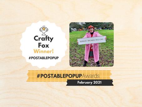 #Postablepopup Winners... Meet Sophie!