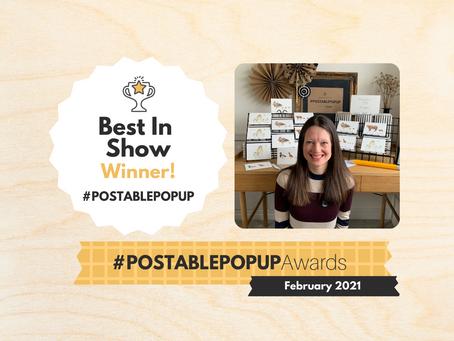 #Postablepopup Winners... Meet Melissa!