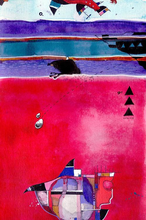 Submarinos sonham com oceanos vermelhos