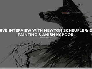 EXCLUSIVE INTERVIEW WITH NEWTON SCHEUFLER: DESIGN, PAINTING & ANISH KAPOOR