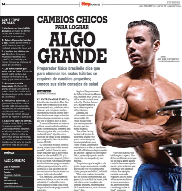 Alex Carneiro Denver Personal Trainer