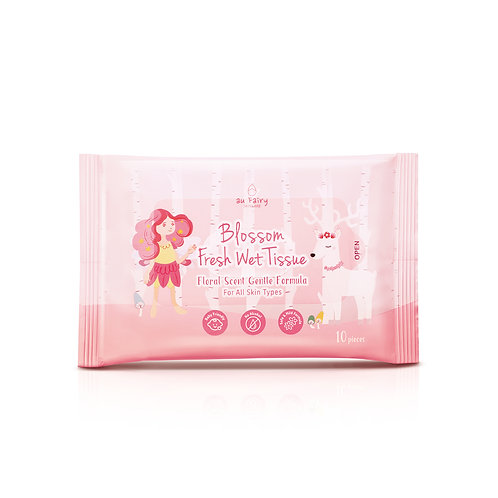Blossom Fresh Wet Tissue - Floral Scent
