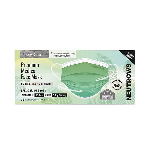 Airy Secure Premium Medical Face Mask   Ombre Series