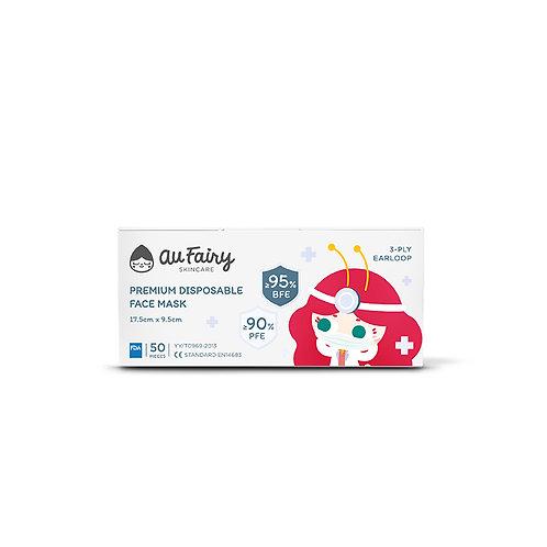 Au Fairy Premium Disposable Face Mask - 50pcs
